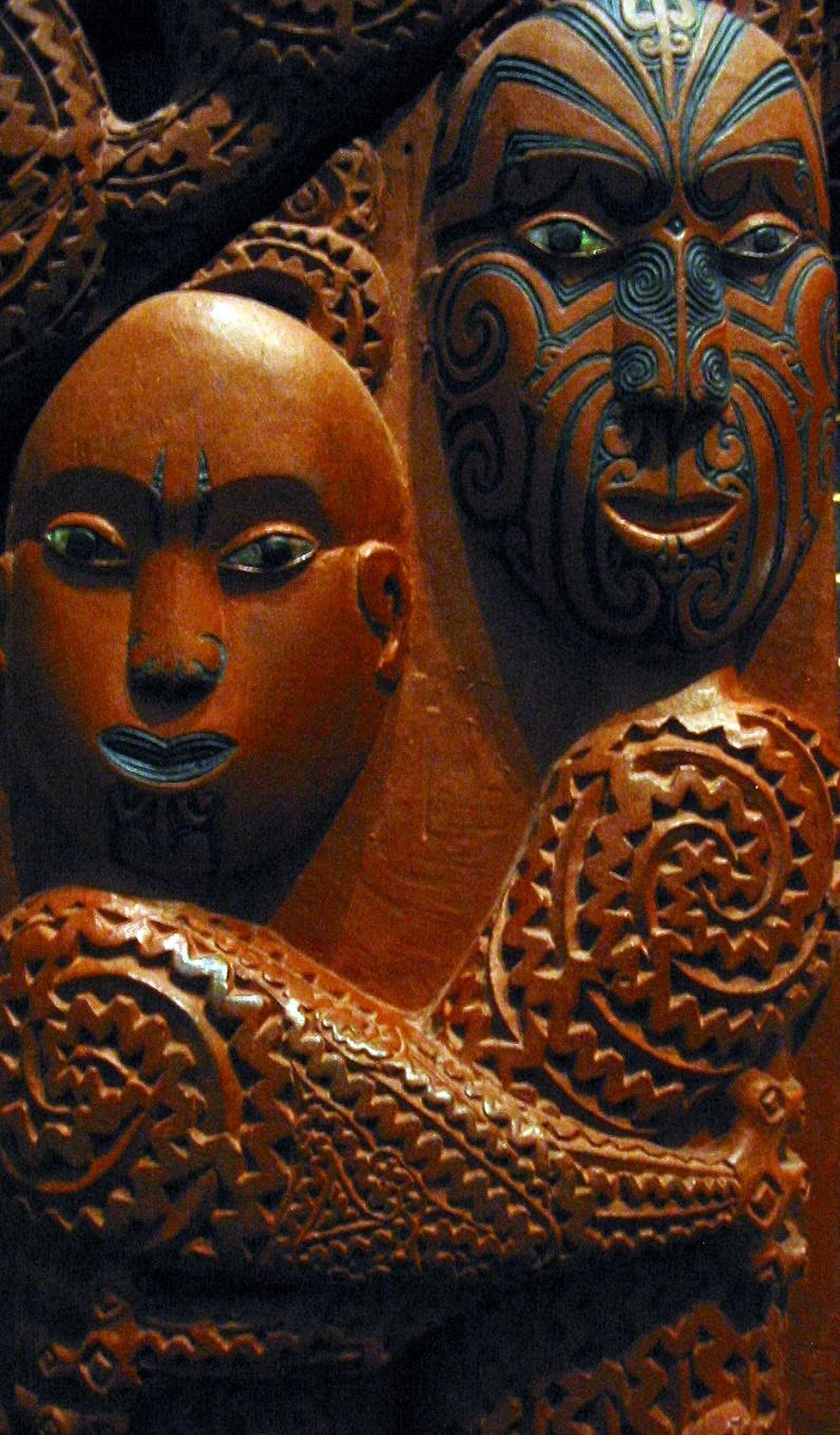 Rangi and Papa, world-parents in the Maori creation story – Photo: Wikimedia,  Kahuroa
