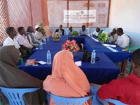 United Religions Initiative interfaith meeting in Mogadishu.