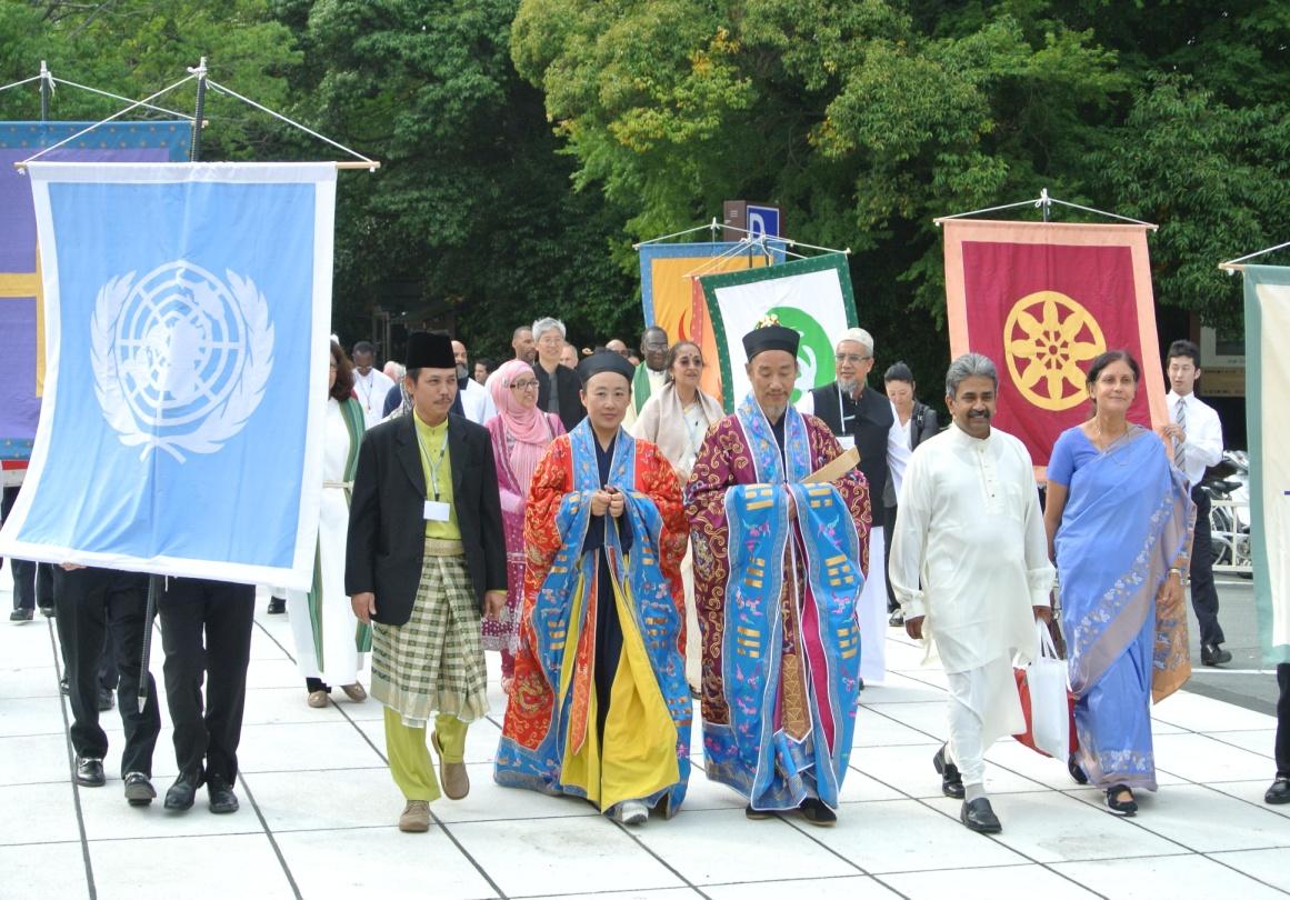 The cover photo of  Interfaith Journeys –  Photo: WFDD