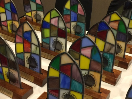 The Wilbur Awards that were presented at the RCC convention – Photo: Paul Chaffee