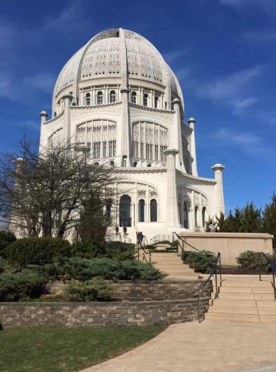 Bahá'í House of Worship for North America – Photo: Paul Chaffee