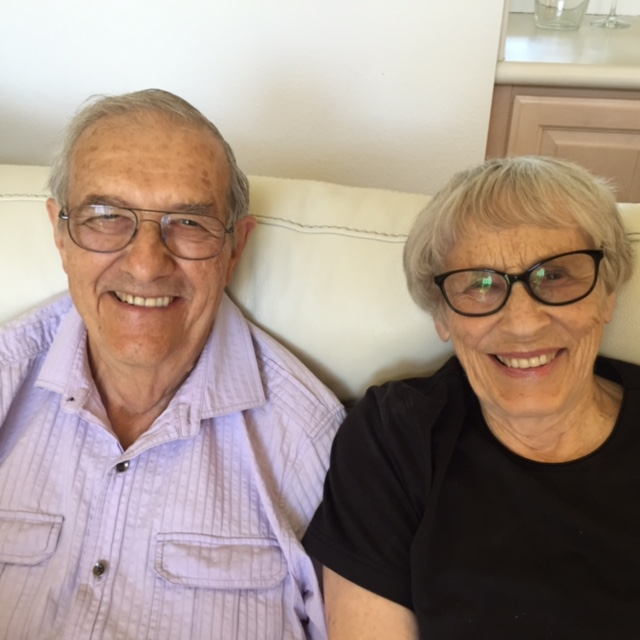 The Leshers will celebrate their 60th wedding anniversary later this year. – Photo: the Leshers
