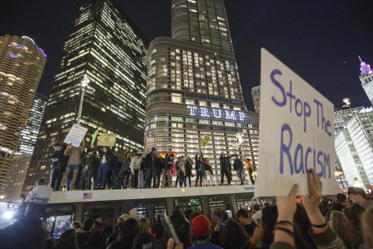 Photo: Facebook,  The Resistance to Donald J. Trump