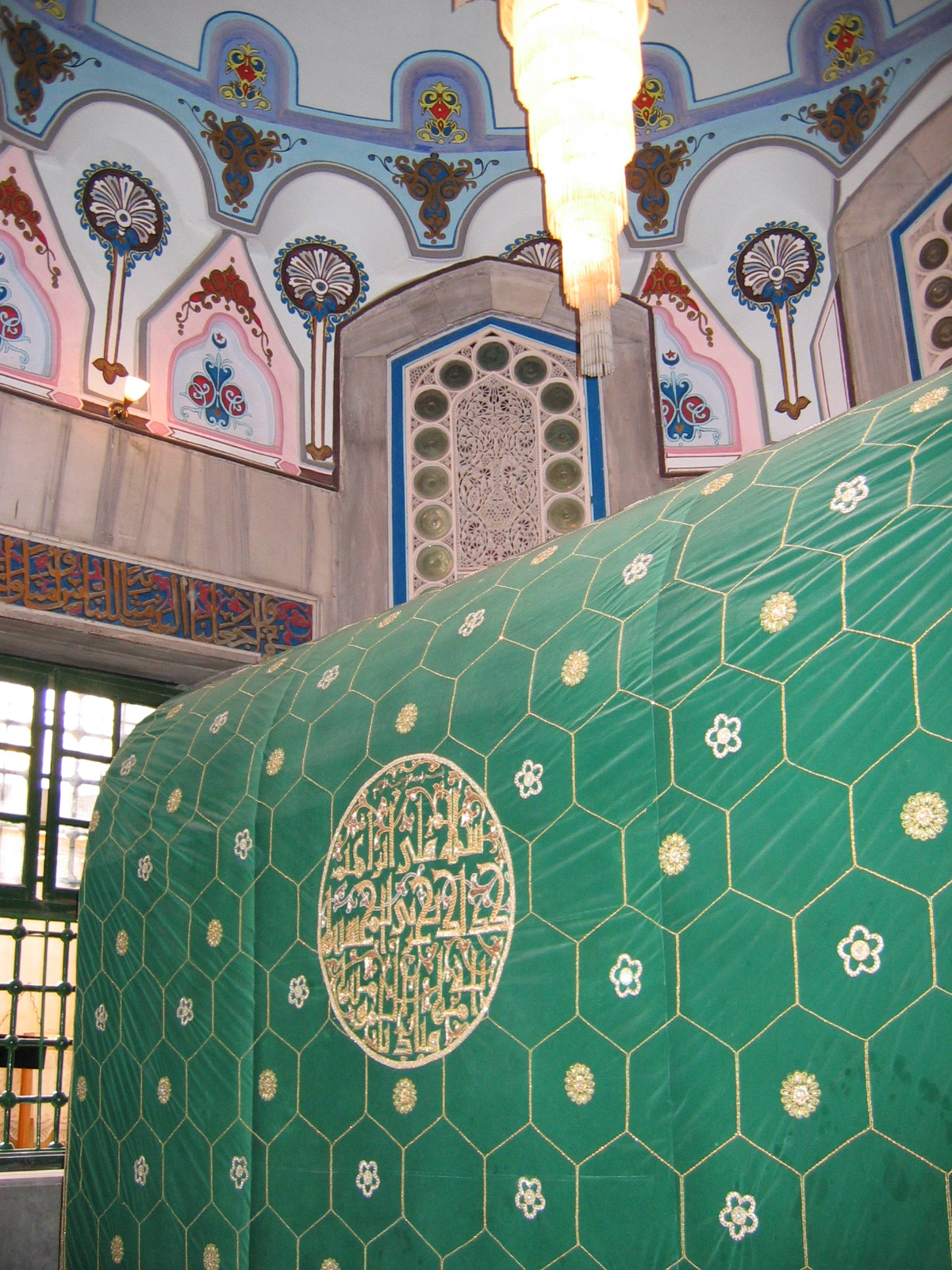 The Tomb of Abraham above the Cave of the Patriarchs, the  Machpelah , where tradition says Abraham and Sarah were buried. – Photo:  Wikimedia, Eric Stoltz, Cc.2.5