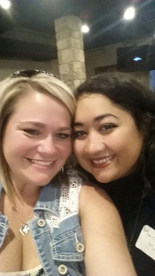 Marium and her close friend Brandi Coffman – Photo: MM