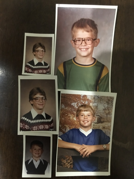 A collage of Bud Heckman growing up –Photo: BH
