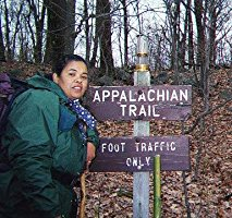 Audri walking the Appalachian Trail for peace – Photo: ASW