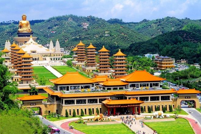 Fo Guang Shan Buddha Museum in Taiwan – Photo: Wikimedia