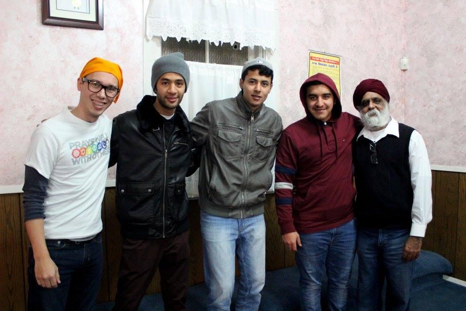 Meet the Neighbors visit to the Sikh Gurdwara – Photo:  Facebook