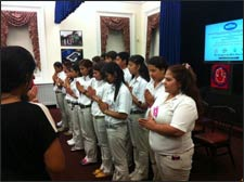 Invocation by Bhutanese Youth - HASC Seva Conference at The White House