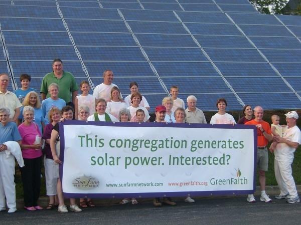 GreenFaith has supported more than 1 megawatt of solar installations at faith-based facilities. – Photo: Rev. Fletcher Harper