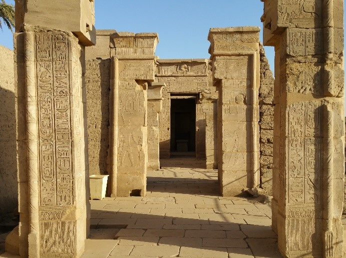 Entry to the Temple of Ptah   – Photo: DF