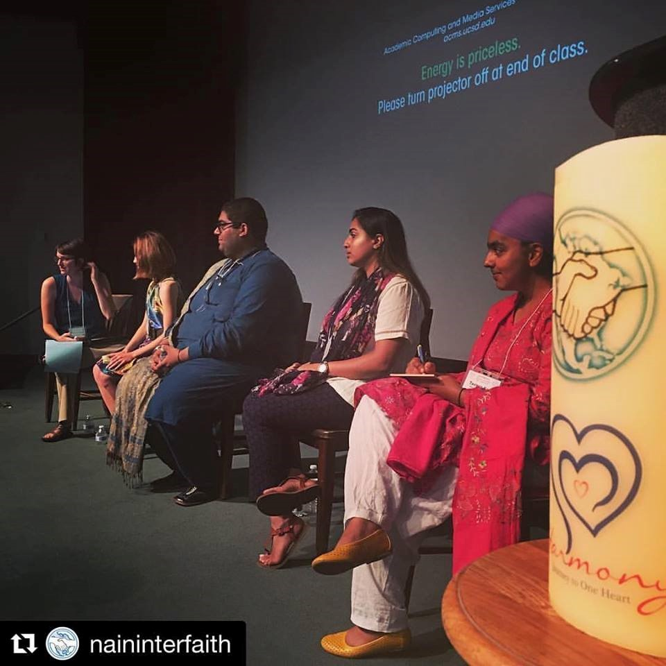 Young Leaders at the North American Interfaith Conference (NAIN) – Photo:    Facebook