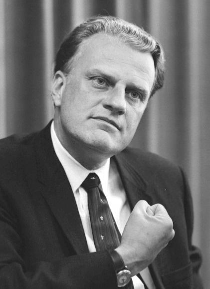Billy Graham – Photo:    Wikimedia Commons