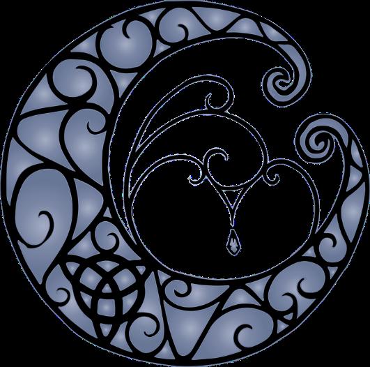 Pagan moon triquetra – Photo:    Pixabay