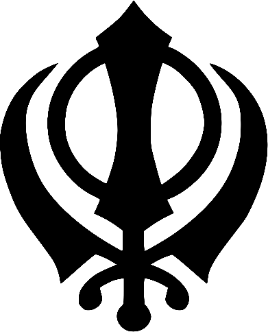 Khanda, symbol of the Sikh faith – Photo:    Wikimedia