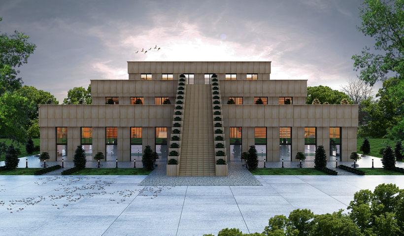 Proposed Zuist ziggurat to be built in Reykjavik, Iceland – Photo:    Zuist Society