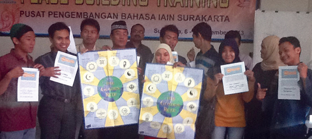 Peace-building trainees in Central Java, Indonesia, which has the largest Muslim population of any country in the world – Photo:    Scarboro Missions