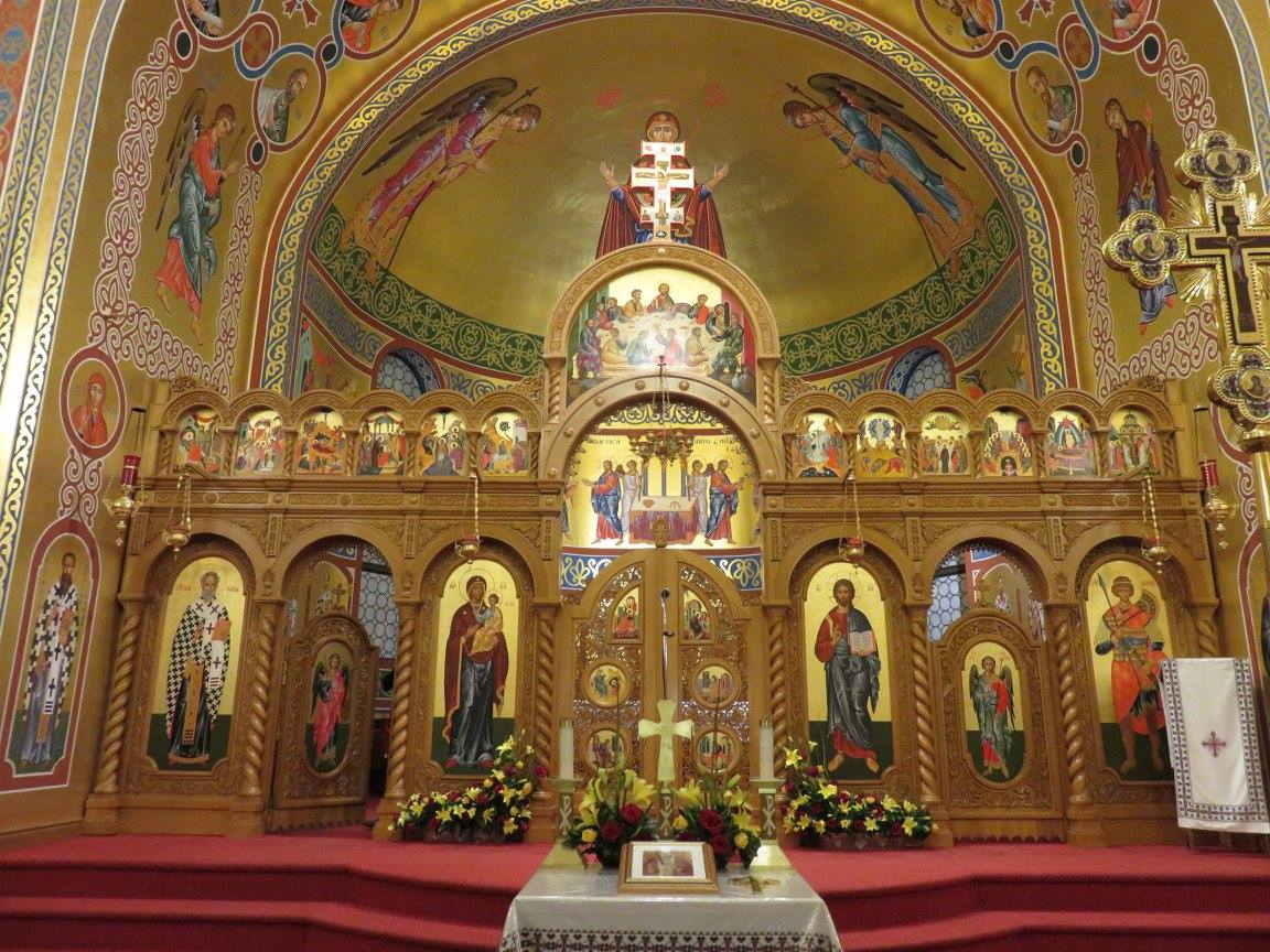 Interfaith Explorations visit to St. George Ukrainian Catholic Church – Photo:    EICEA