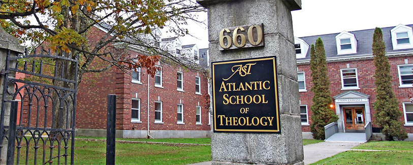 Entrance to Atlantic School of Theology – Photo:    AST