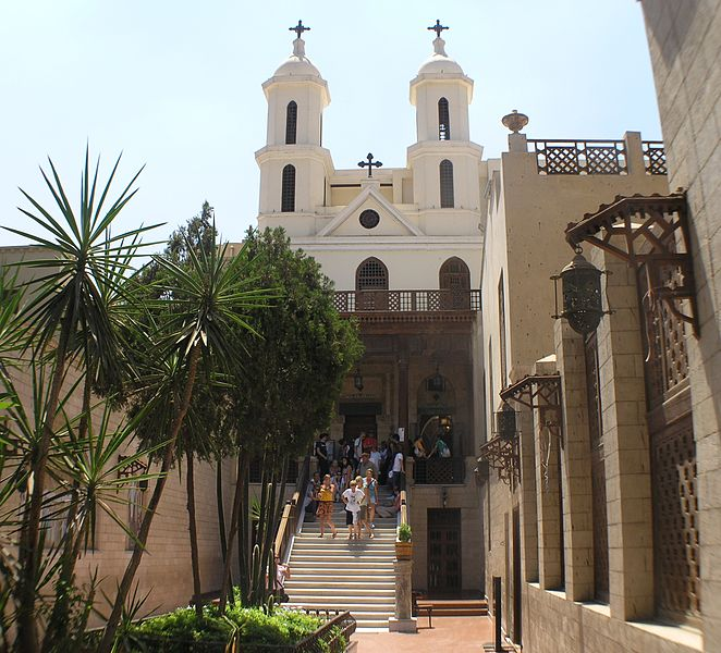 Coptic Church in Cairo – Photo:    Wikimedia