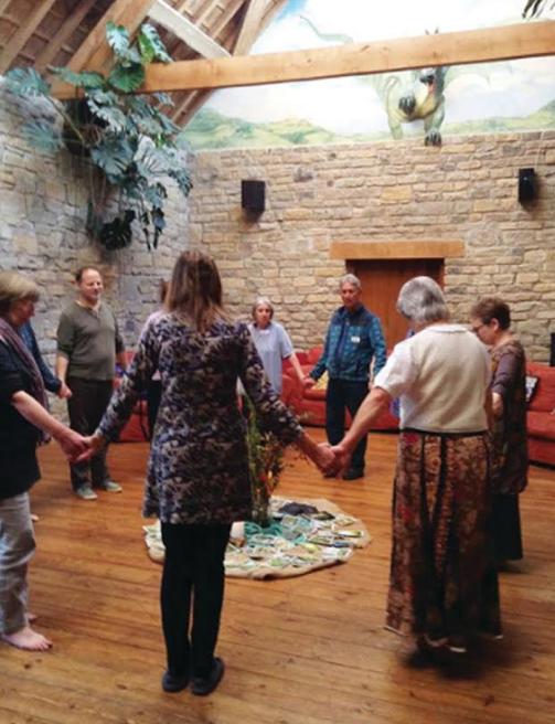 Circle dancing – Photo:    GreenSpirit