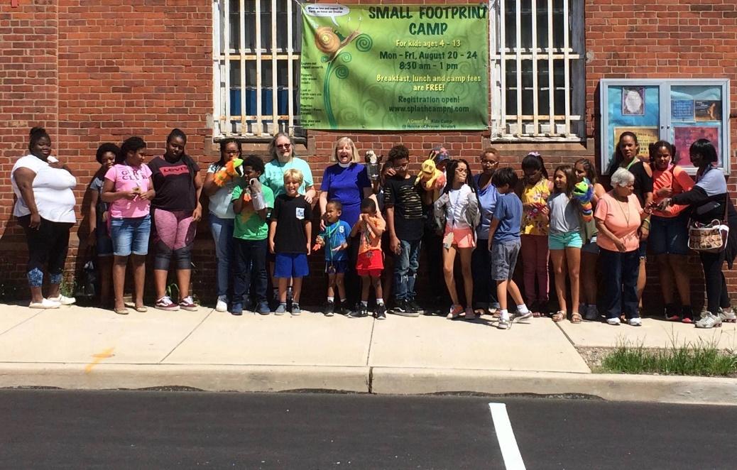 Small Footprints camp participants in Newark, NJ – Photo: BL