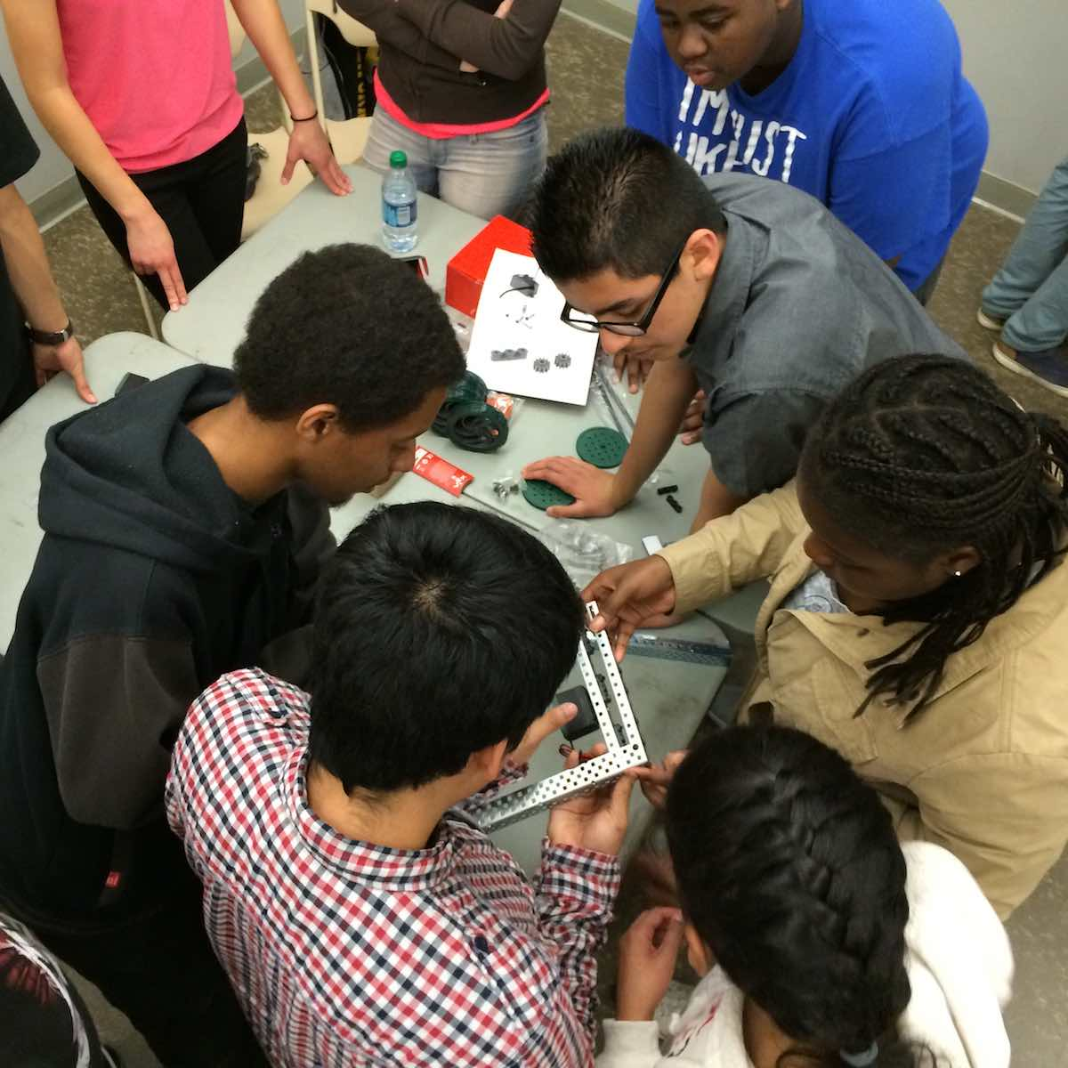 Students working at REALM Charter School – Photo:    REALM Charter School
