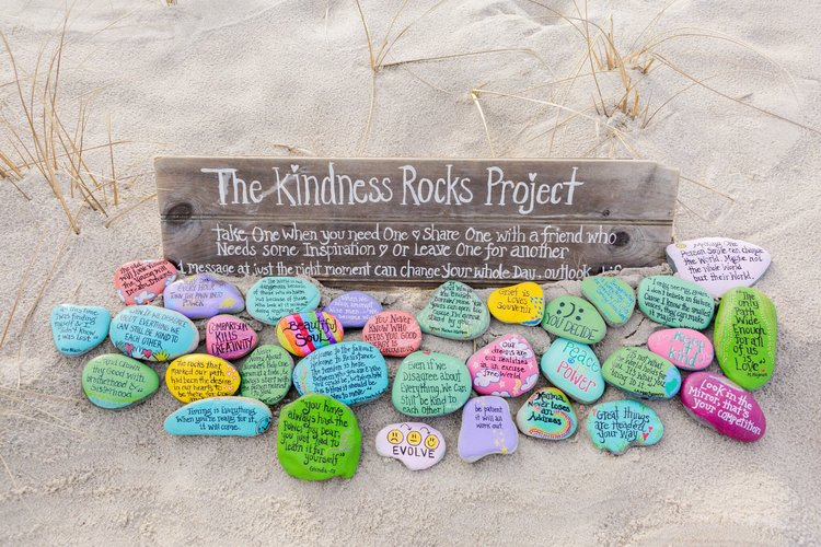 Photo:    The Kindness Rocks Project