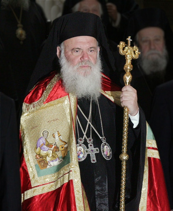 Ieronymos II is the Archbishop of Athens and All Greece – Photo:    Wikimedia
