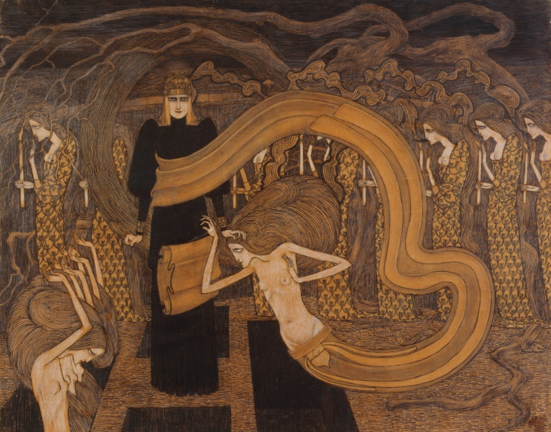 Fatalism  by Jan Toorop – Photo:   Wikimedia