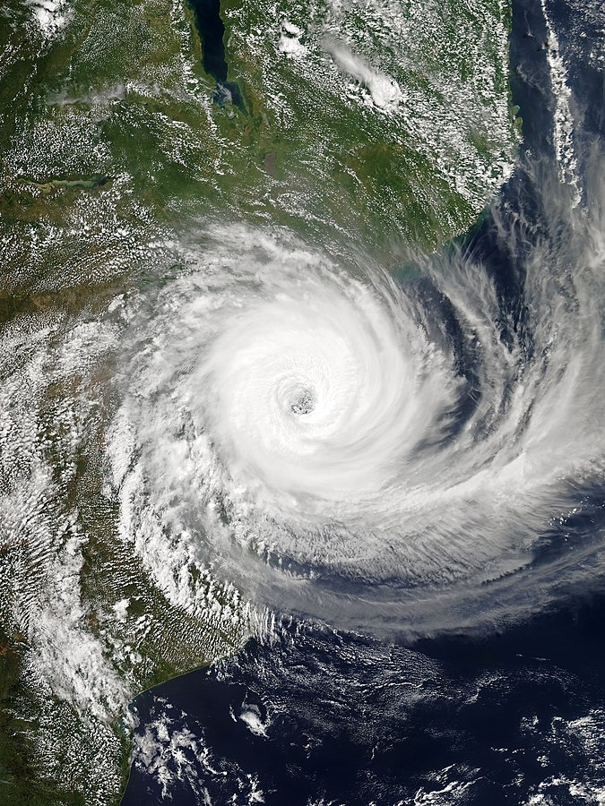 Hurricane Idai – Photo:    Wikimedia