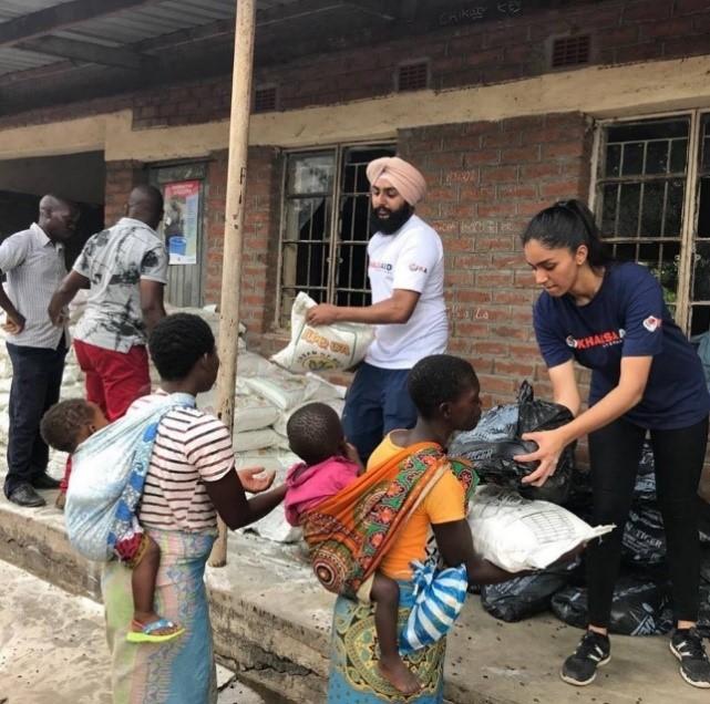 Photo:    Khalsa Aid