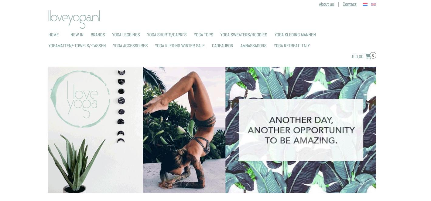 Iloveyoga website