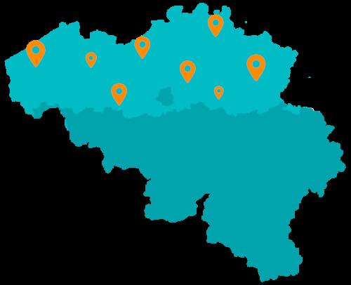 Pakketten versturen naar afhaallocaties in België binnen jouw Magento 1 webshop