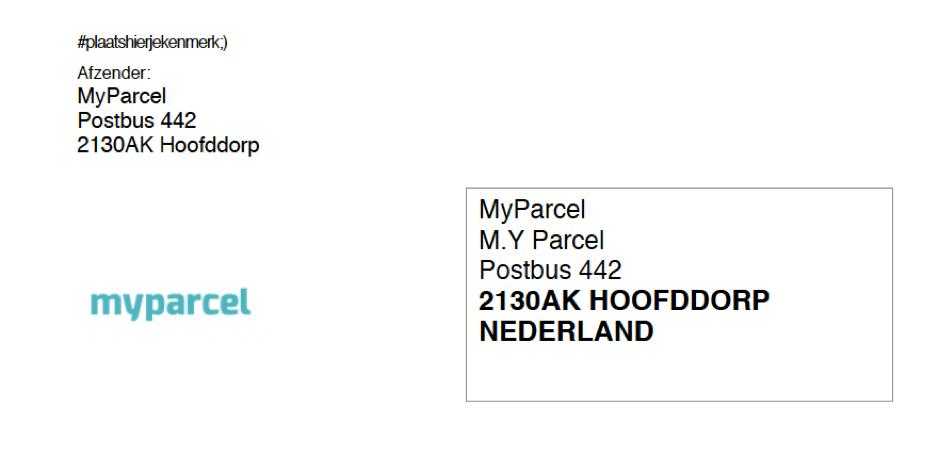 Ongefrankeerd label MyParcel.png