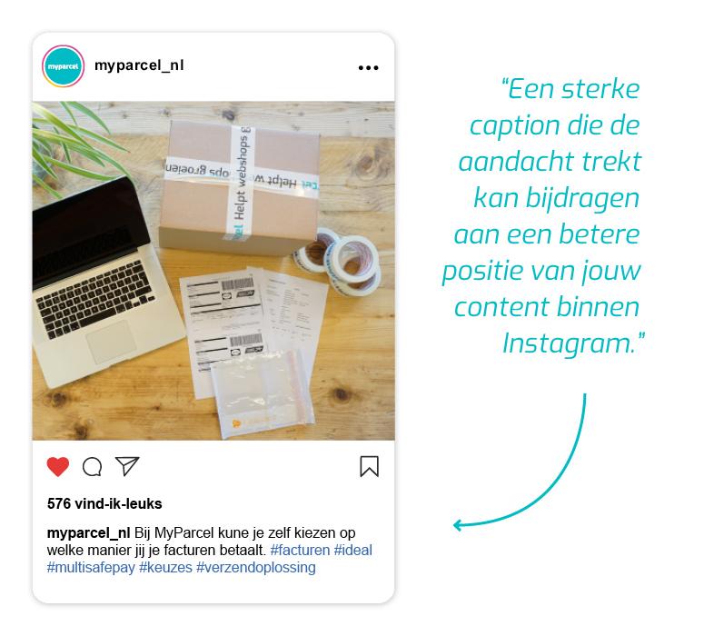 Instagram MyParcel Deel 3
