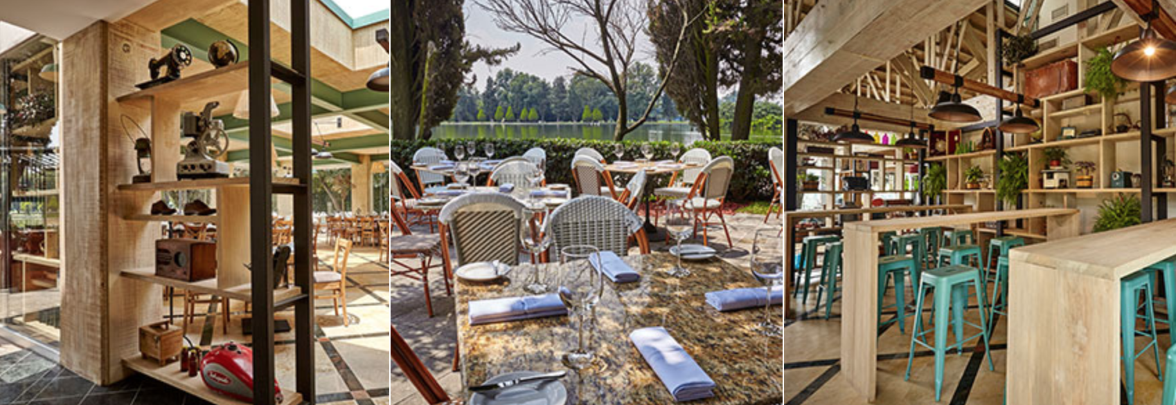 Bistro Chapultepec... Ok so you'll butcher the name but the views are worth the embarrasment.