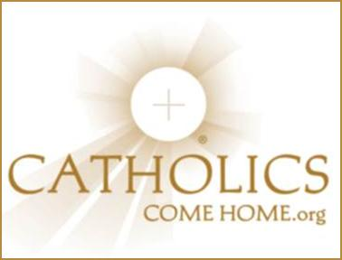 Catholics Come Home    If you or someone you know is thinking about coming back to the Catholic Church, this is a great resource for getting started.