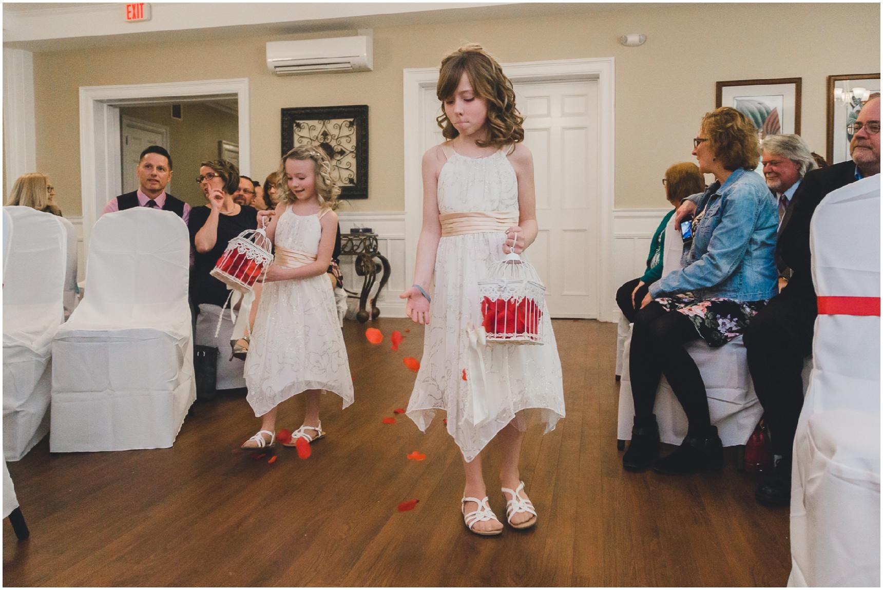 Buffalo Wedding Flower Girls