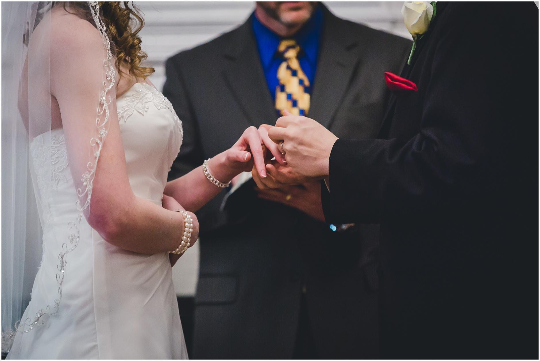 Buffalo Wedding Ceremony Photography