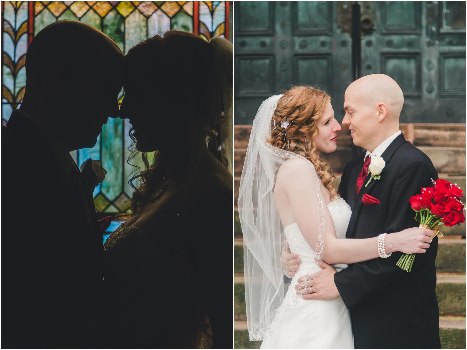 Buffalo Wedding Couple Photographs