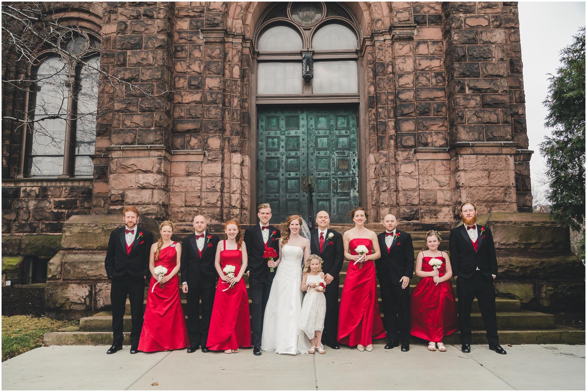 Buffalo Wedding Bridal Party