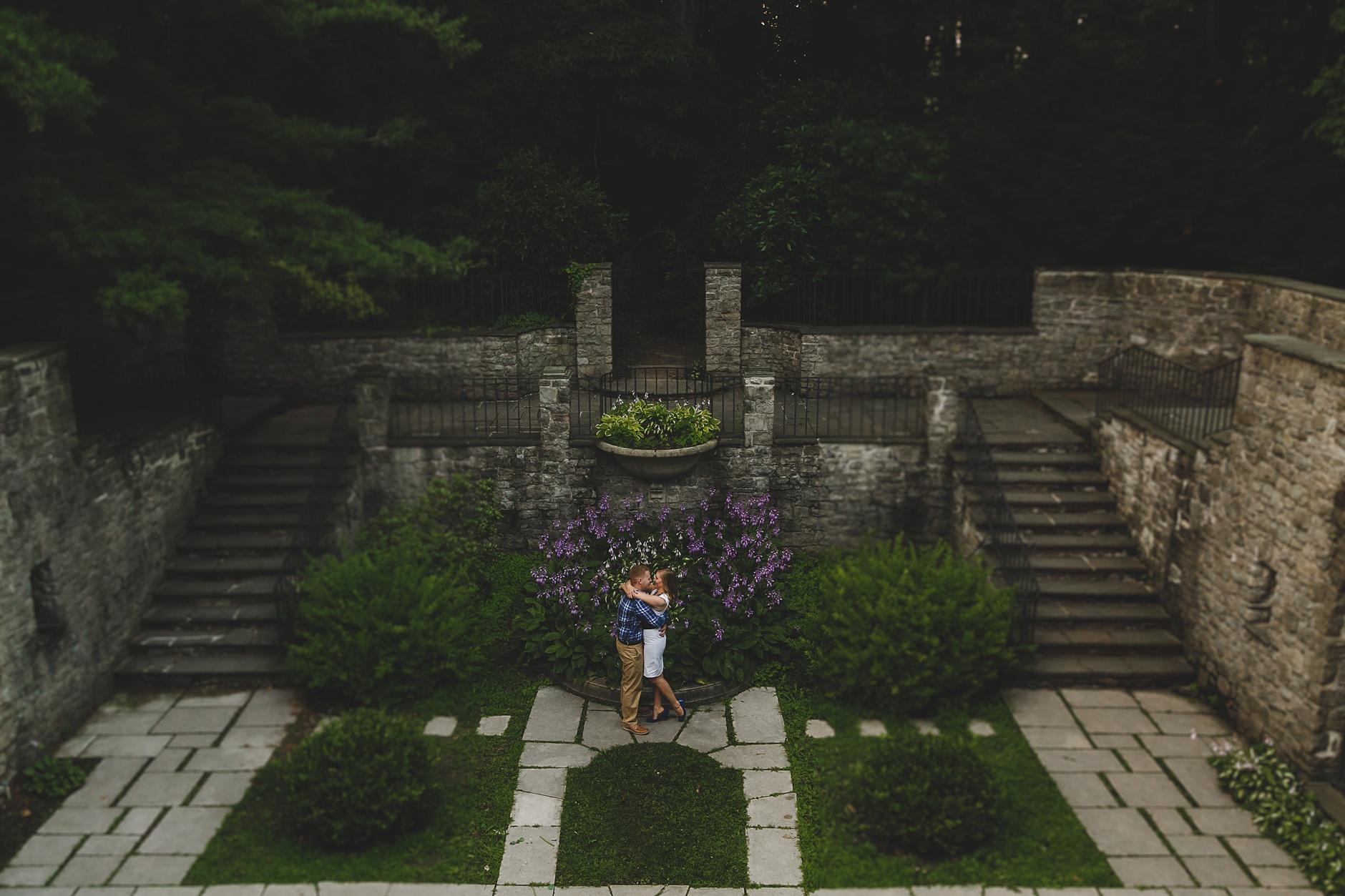 Rochester Sunken Garden Engagement