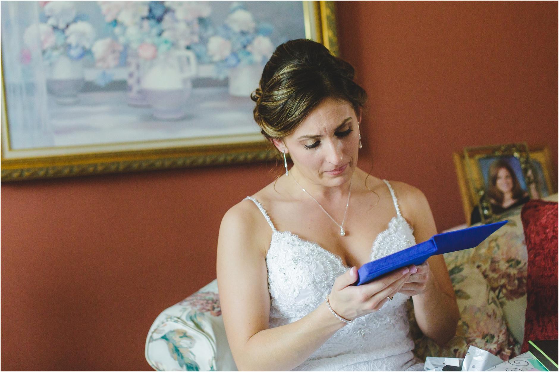Buffalo Bride Getting Ready