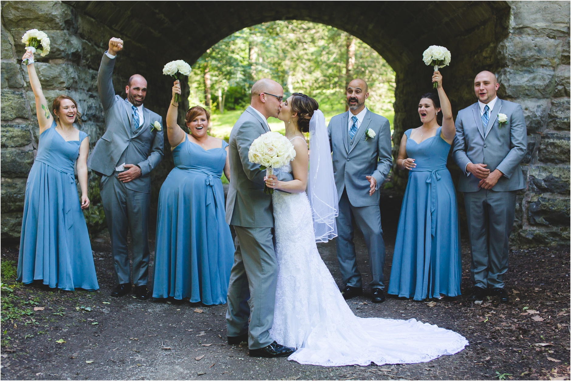 Wedding Pictures Delaware Park Buffalo NY