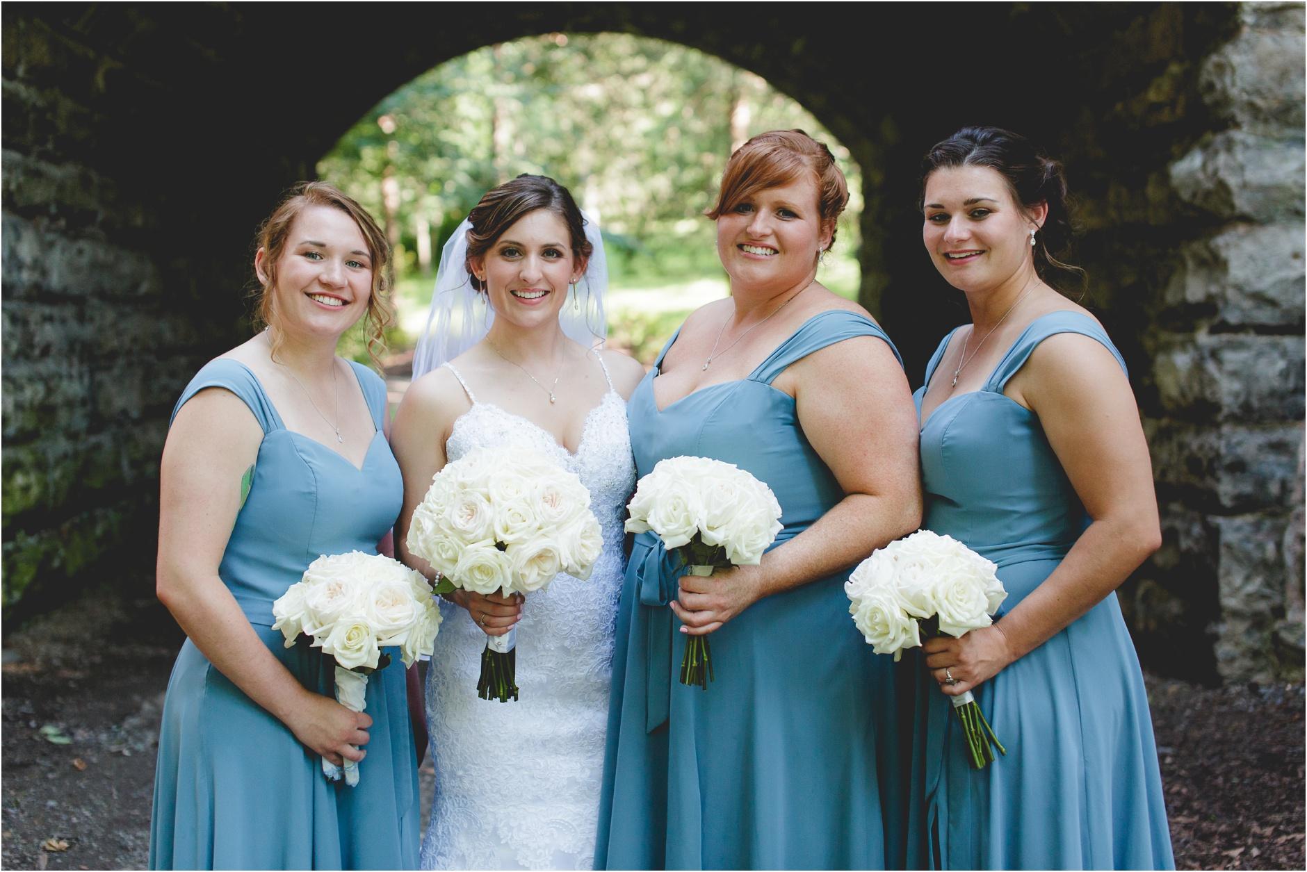 Bridal Portraits Delaware Park Buffalo