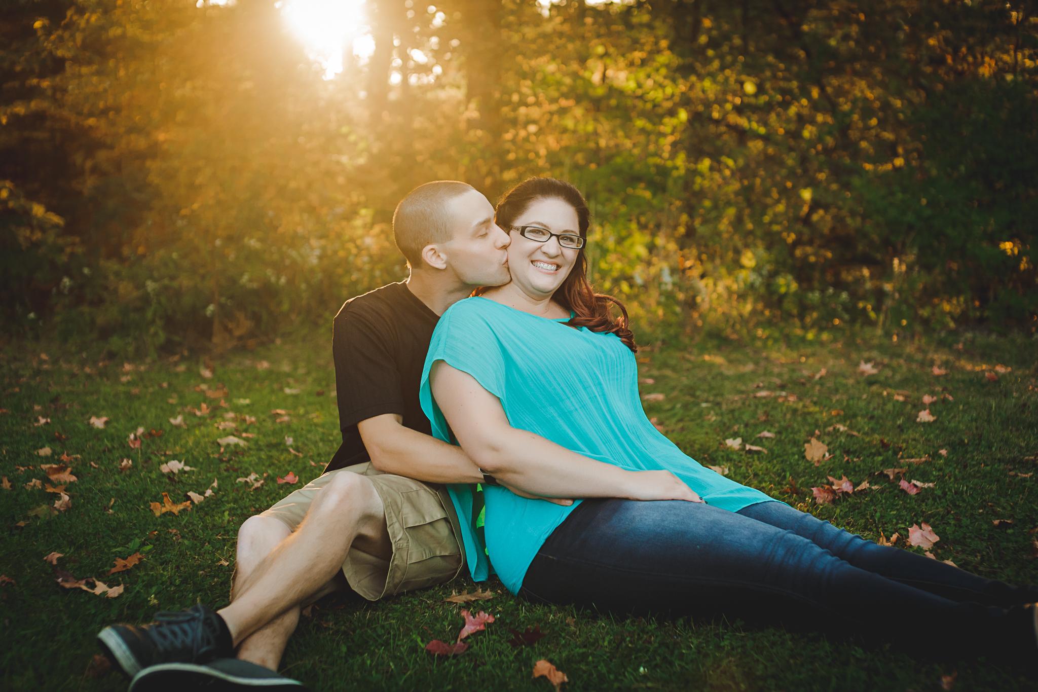 Fall Engagement Photographer