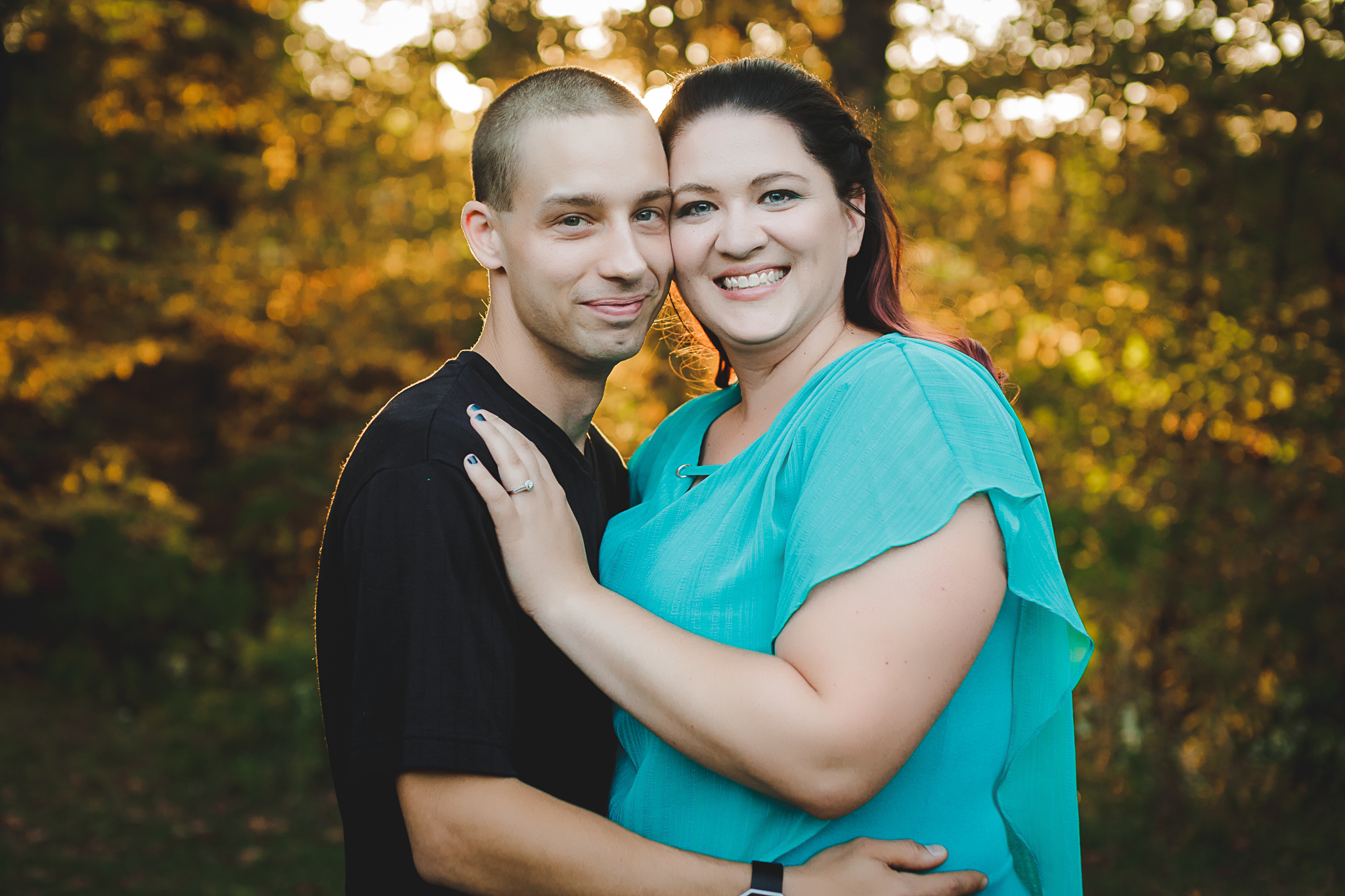 Engagement pictures Buffalo NY Fall