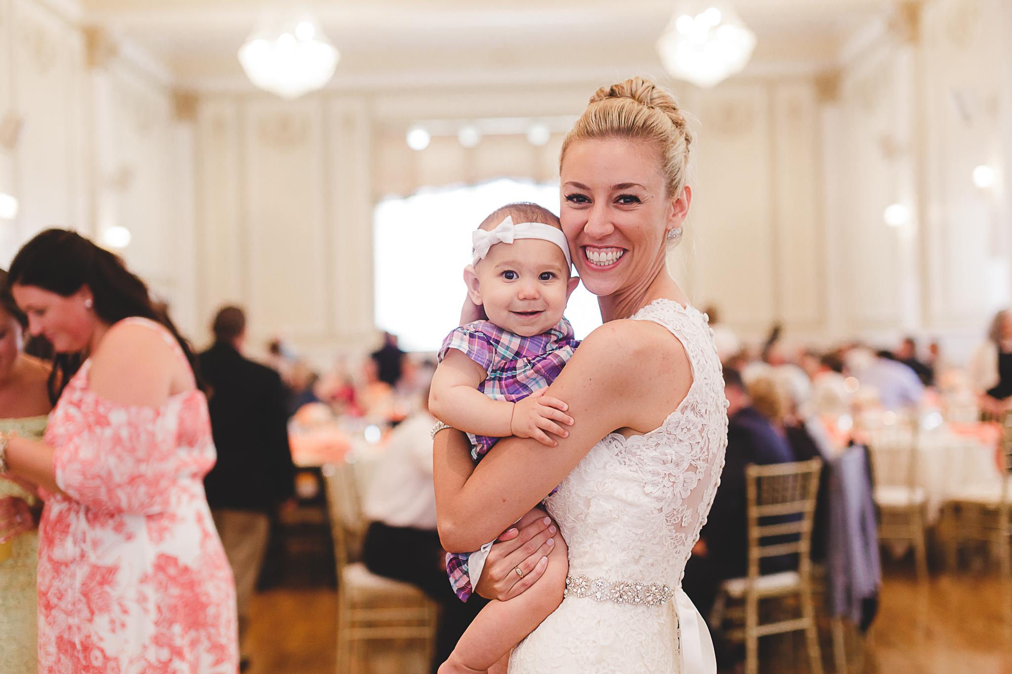 Buffalo Hotel Lafayette Wedding Reception
